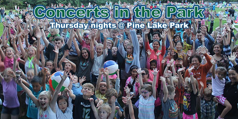 View the Concerts in the Park Lineup