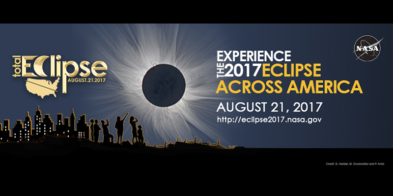 Stay safe and get more information from NASA on the upcoming solar eclipse on August 21st, 2017.