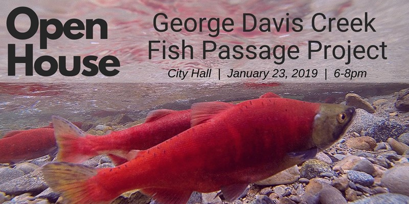 George Davis Creek Fish Passage Project Open House