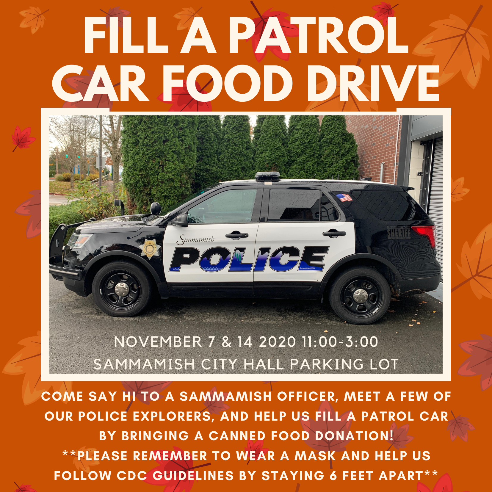 Flyer for Food Drive 2020 Fill a Patrol Car (002).png